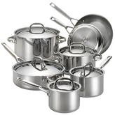Anolon Tri-Ply Clad Cookware Set (12 PC)