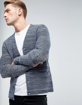 Esprit Knitted Cardigan In Mixed Yarn