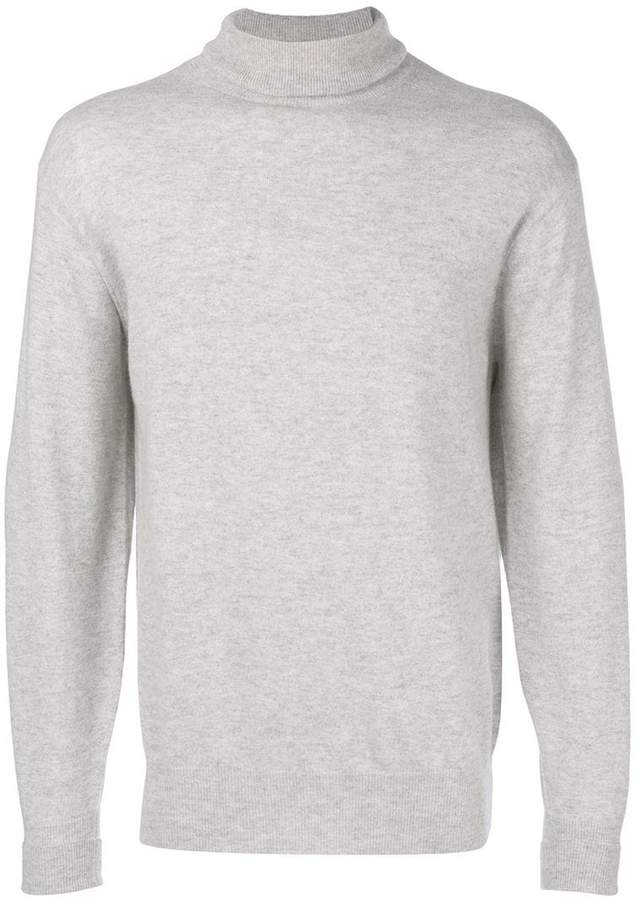 N.Peal cashmere turtle neck jumper