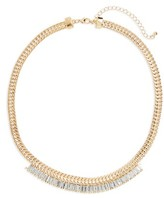 BP Women's Crystal & Chain Necklace