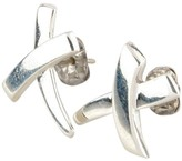 Tiffany & Co. 925 Sterling Silver Paloma Picasso X Earrings