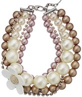 Marc Jacobs Women's Daisy Pearl Statement Necklace Necklace