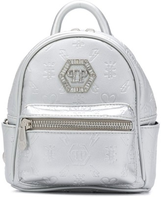 Philipp Plein Logo-Embossed Backpack
