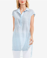 Vince Camuto TWO by Printed High-Low Tunic