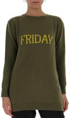 Alberta Ferretti Friday Mini Sweater Dress
