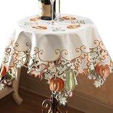 Autumn Harvest Diecut Decorative Table Linens, Square