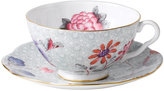 Wedgwood Green Cuckoo Teacup and Saucer