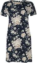 Alice & You **Alice & You Navy Printed Shift Dress