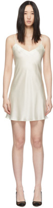 Simone Perele Off-White Dream Short Dress
