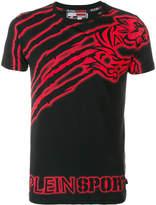 Plein Sport tiger motif T-shirt