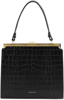 Mansur Gavriel Elegant Embossed Croc Leather Bag
