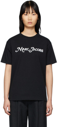 Marc Jacobs Black New York Magazine Edition The Logo T-Shirt