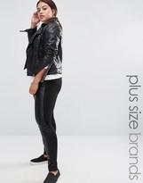 Junarose Leather Look Leggings