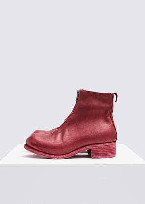 Guidi Front Zip Ankle Boot