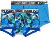 Bonds Fit Trunk 2pk Plain/Ydg Xmas