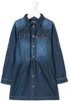 Levi's Kids long-sleeved denim dress
