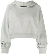 Alyx cropped raglan hoodie