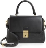Ted Baker Luggage Lock Leather Satchel
