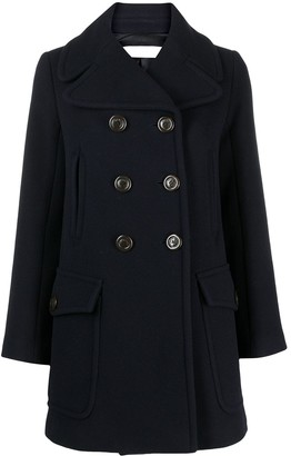 See by Chloe Double-Breasted Coat