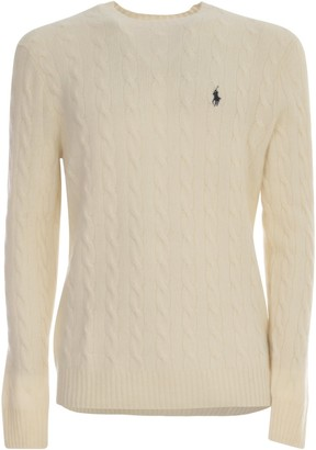 Polo Ralph Lauren Cable Knit Crewneck Jumper
