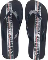 Emporio Armani Mens Flip Flops Navy