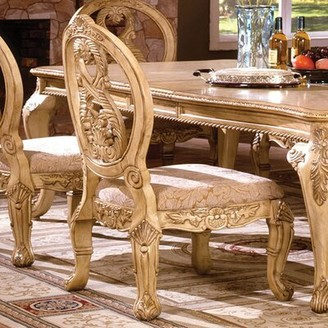 Basche Traditional Solid Wood Dining Chair Astoria Grand