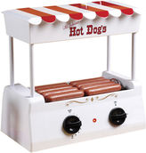 Nostalgia Electrics Nostalgia HDR565 Vintage Collection Hot Dog Rollerwith Bun Warmer