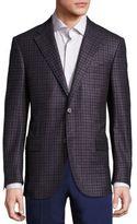 Corneliani Virgin Wool, Silk & Cashmere Blend Blazer