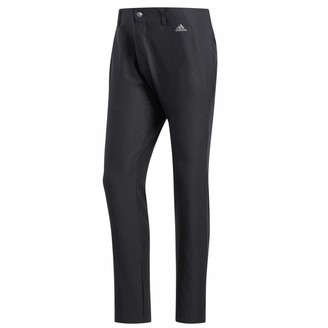 adidas Men's Ultimate 365 3-Stripes Tapered Pants Tracksuit Bottoms Black (Negro Dq2206) One (Size: 3832)