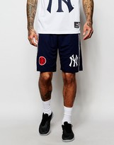 Majestic Yankees Long Shorts