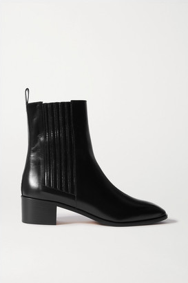 AEYDĒ Neil Leather Chelsea Boots - Black