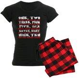 CafePress - Freddy Krueger Rhyme - Womens Novelty Cotton Pajama Set, Comfortable PJ Sleepwear