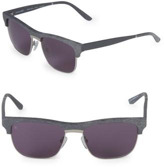 Smoke X Mirrors 53MM Uncle Albert Sunglasses