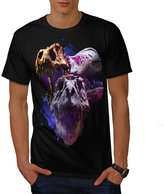 Skull Dinosaur Head Beast Art Men NEW XXXL T-shirt | Wellcoda