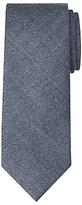 John Lewis Made in Italy Plain Wool Tie, Navy