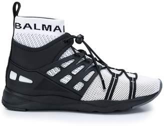 Balmain Jason hi-top running sneakers