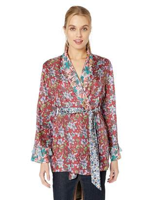 For Love and Liberty Love & Liberty Women's Kimono Wrap Top