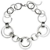 Topshop Women's Circle Link Collar Necklace