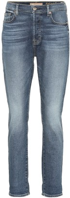 7 For All Mankind Josefina high-rise skinny jeans