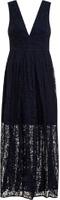 Dorothy Perkins Womens *Chi Chi London Curve Navy Maxi Dress- Navy