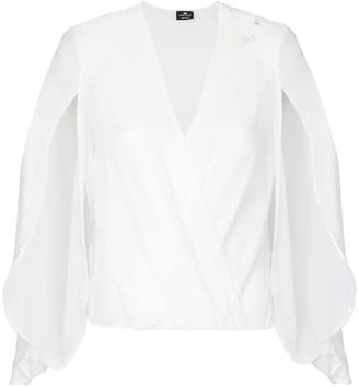 Elisabetta Franchi Plunge Bodysuit