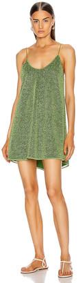 Oseree Short Dress in Green | FWRD