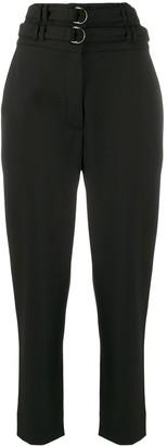Proenza Schouler High Waist Belted Trousers