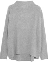 Vince Boiled Cashmere Sweater - Gray