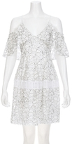 Nicholas Basque Lace Dress