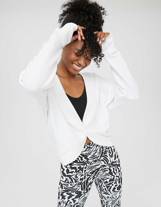 aerie OFFLINE Twist Back Sweatshirt