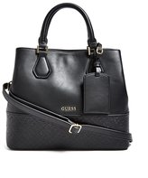 GUESS Olivia Logo-Embossed Shopper Tote