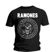 Bravado Mens Ramones- Hey Ho Let's Go - (Front Print) Mens T-shirt 95222000CP