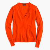 J.Crew Italian featherweight cashmere classic V-neck sweater