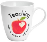 Pfaltzgraff Teaching Is A Work Of Heart Mug